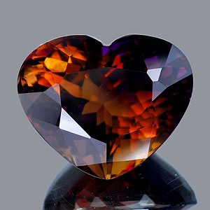 53.60 Ct. Clean Heart Hydrothermal Bi Color Ametrine