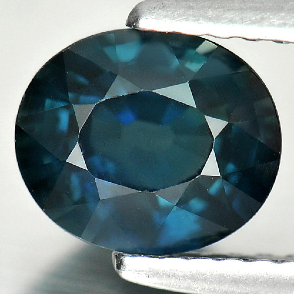 Certified 1.69 Ct. Natural Gemstone Blue Sapphire Oval Cutting Madagascar