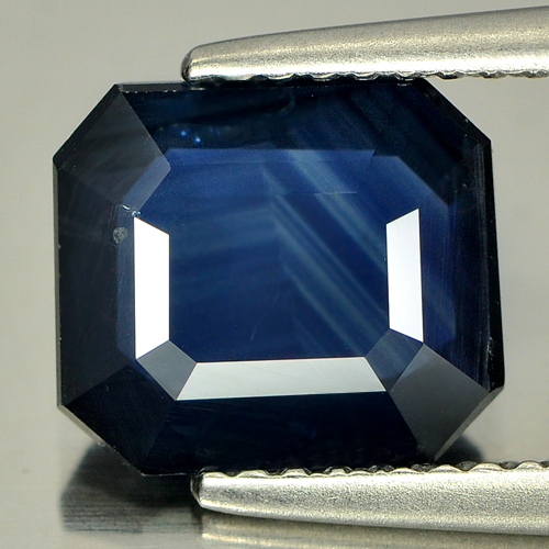 2.90 Ct. Natural Blue Sapphire Gemstone Octagon Shape
