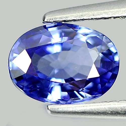 Alluring Gemstone 1.02 Ct. Oval Shape Natural Blue Sapphire