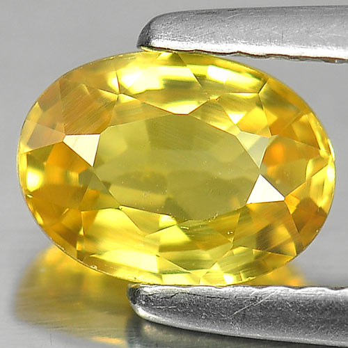 1.13 Ct. Natural Yellow Sapphire Gemstone From Thailand