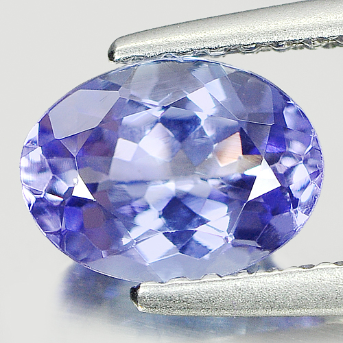 1.27 Ct. Oval Shape Natural Tanzanite Gemstone Violetish Blue From Tanzania
