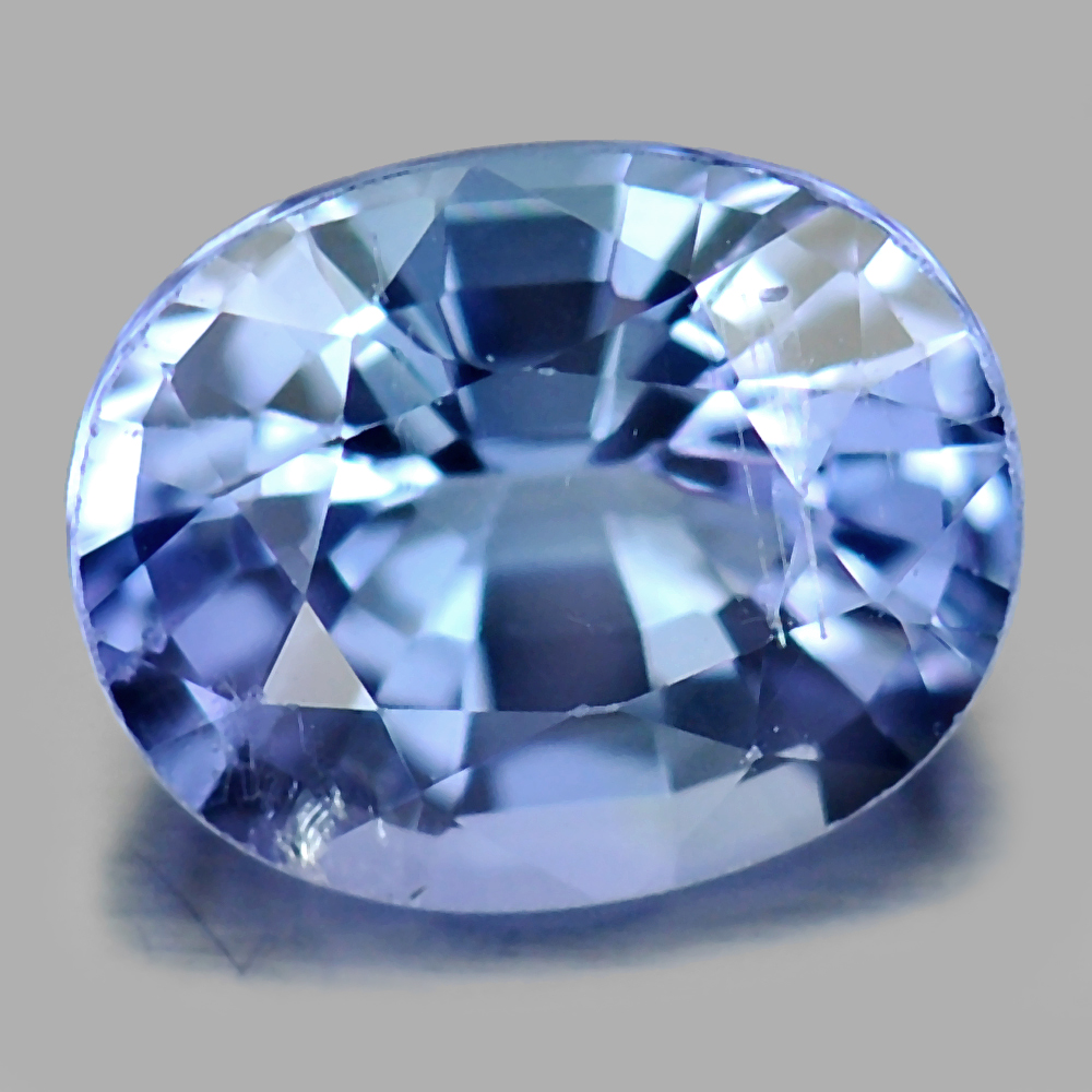 1.10 Ct. Natural Gemstone Violetish Blue Tanzanite Oval Shape