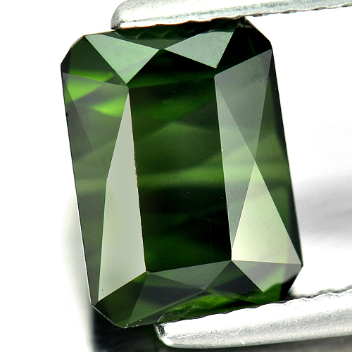 2.53 Ct. Clean Octagon Shape Gem Natural Green Tourmaline Unheated