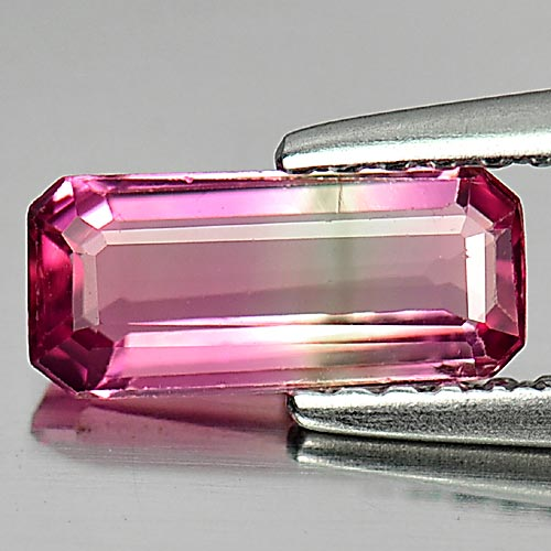 0.79 Ct. Octagon Shape Natural Gem Pink Tourmaline Unheated