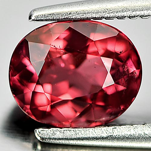 Unheated 1.13 Ct. Oval Shape Natural Reddish Pink Tourmaline Gem