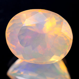 Unheated 2.73 Ct. Oval Natural Multi Color Opal Sudan